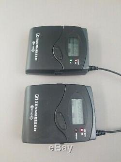 Sennheiser EW100 G2 C 740-776 MHz SK100 Mic Transmitter + EK100 Receiver Pair
