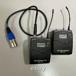 Sennheiser EW100 G2 Compact Bodypack Wireless Transmitter and Receiver kit