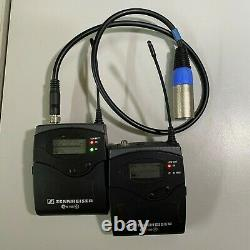 Sennheiser EW100 G2 Compact Wireless Bodypack Transmitter and Receiver kit