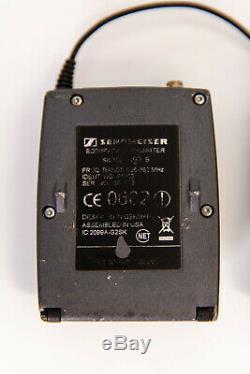 Sennheiser EW100 G2 EK SK Wireless Microphone Transmitter & Receiver Band B 626