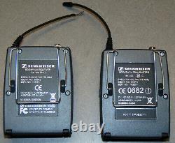 Sennheiser EW100 G2 Wireless Microphone Receiver Transmitter SKP 100 Microphone
