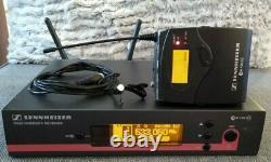 Sennheiser EW100 G3 516-558 MHz Receiver Bodypack Transmitter Lapel Lavalier Set
