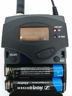 Sennheiser EW100 G3 516-558MHz Wireless Diversity Receiver/Bodypack Transmitter