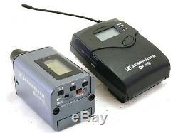 Sennheiser EW100 G3 Microphone Set with transmitter, receiver, 2x Levallier mics