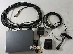Sennheiser EW100 G3 True Diversity Receiver Bodypack Transmitter, ME 3-EW Mic