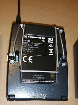 Sennheiser EW100 G3 Wireless Microphone Full Set Receiver Transmitter Mic XLR