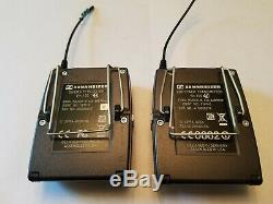 Sennheiser EW100 G3 wireless bodypack 626-668 MHz receiver and transmitter
