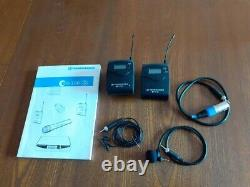 Sennheiser EW100 wireless microphone, transmitter and receiver-License free CH70