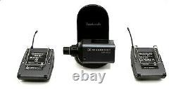 Sennheiser EW100ENG-G2 Bodypack Transmitter and Receiver used