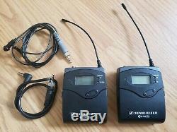Sennheiser EW100G2 Bodypack Transmitter & Receiver