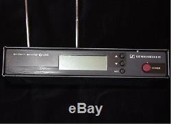 Sennheiser EW300 Diversity Receiver and EW300 Bodypack Transmitter and Lapel Mic