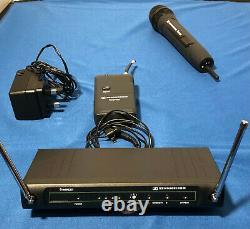Sennheiser Freeport Handheld, plus Lapel Mic, Belt pack transmitter and receiver