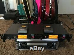 Sennheiser IEM 2000 2050 transmitter & receivers Gw-band 558-626 wireless XP EK