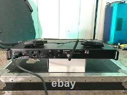 Sennheiser IEM 2000 transmitter 2 receivers Aw-band 516-558 wireless EK G3 G4 SR