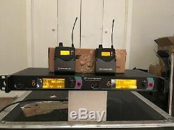 Sennheiser IEM 2000 transmitter 2 receivers Gw-band 558-626 wireless EK 2050 G4