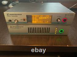Sennheiser IEM ew300 G3 (Transmitter/Receiver) + AC3 combiner/antenna