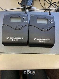Sennheiser Receiver ew300 G2, BodyPack Transmitter With Power Supply