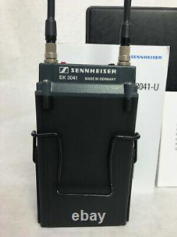 Sennheiser SK 5012 Miniature Transmitter EK 3041 Diversity Receiver 584-607 MHz