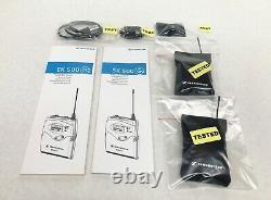 Sennheiser SK500 EK500 G2 740-776 MHz Wireless Transmitter Receiver & MKE-2 Lav