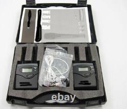Sennheiser/Shure Compatible G2 G4 UHF wireless bodypack + case 606-613Mhz CH38