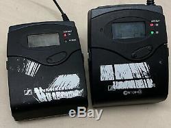 Sennheiser Transmitter Receiver E100 G3 Kit EK100-G3, SK100-G3, 606-648Mhz