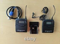 Sennheiser ew 100 G2 Wireless Bodypack Receiver, Transmitter + lav mic