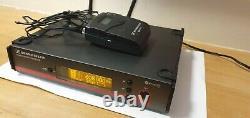 Sennheiser ew 100 G3 wireless receiver with SK 100 g3-gb transmitter 606-648 MHz