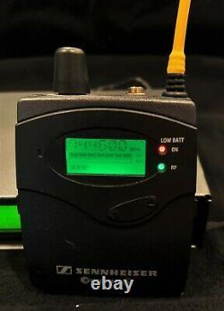 Sennheiser ew 300 IEM G2 Wireless Transmitter & Bodypack Receiver Works Great