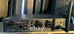 Sennheiser ew 300 IEM G3 SYSTEM FREQ RANGE B Transmitter and Receiver