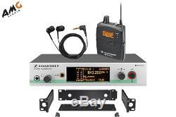 Sennheiser ew 300 IEM G3 Wireless Stereo Audio System Transmitter/Receiver