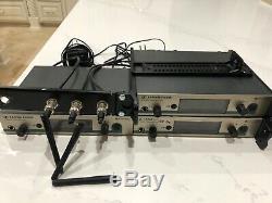 Sennheiser ew 300 iem g3 wireless monitor system (5 receivers, 3 transmitters)