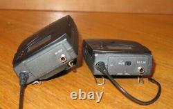 Sennheiser ew100 G2 Bodypack SK100 Transmitter & Receiver 518-554MHz