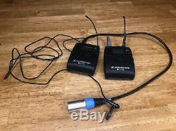 Sennheiser ew100 G2 EK100/SK100 Pro Lavalier Microphone, Receiver/Transmitter