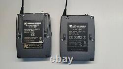 Sennheiser ew100 G2 Kit transmitter/receiver/lav 518-554 MHz