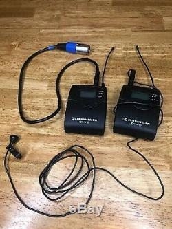 Sennheiser ew100 G3 EK100/SK100 Pro Lavalier Microphone, Receiver/Transmitter