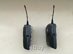 Sennheiser ew100 g2 camera set bodypack transmitter receiver ch70 69 beltpack uk