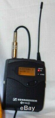 Sennheiser ew100 g3 transmitter & receiver ch38 IMMACULATE radio mic microphone