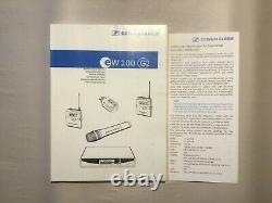 Sennheiser ew100G2 Wireless Receiver & Transmitter withLavalier Mic