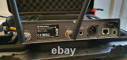 Sennheiser ew300 G4 Handheld Transmitter +G3 Receiver +Hard Case + Rack Kit Ch38