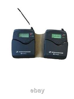 Sennheiser wireless microphone ew100 G2 Transmitter and Receiver, No Lav mic