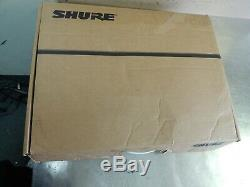 Shure AD4D Dig Receiver 2 AD2/KSM9 Microphones 2 AD1 Body Transmitter WL184&185