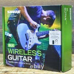 Shure BLX14-H9 Wireless Guitar System BLX4 Receiver / BLX1 Bodypack Transmitter