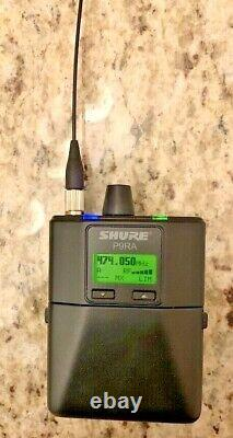 Shure P9T-G6 Wireless Transmitter PSM900 P9RA Receiver System 470-506 Mhz