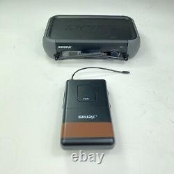 Shure PGX1 Wireless Transmitter, PGX4 Receiver Set PG30 Microphone Hard Case