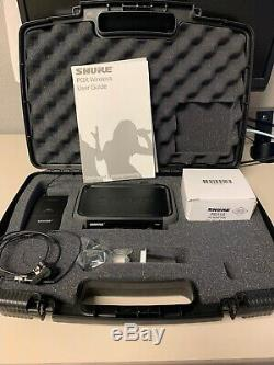 Shure PGX4 Wireless Receiver With PGX 1 Transmitter and WL184 Lavalier Microphone