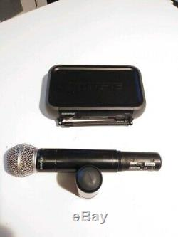 Shure PGX4 Wireless Receiver With PGX 2 SM58 Transmitter (Mic) H6 524-542MHz+cable