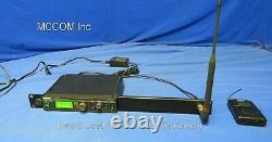 Shure PSM900 P9T Transmitter K1 Band with P9RA Bodypack Receiver Freq 596-632MHz
