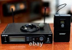 Shure SLX4 Diversity Wireless Transmitter and Receiver No Power Supply included