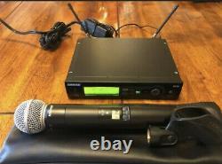 Shure SLX4/SLX2 Receiver/Transmitter Handheld Wireless Microphone System L4 Bamd