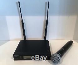Shure ULXD4-L50 Wireless Receiver & ULXD2 Transmitter SM58 L50 632-696 MHz